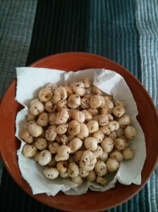 Lotus seeds fried