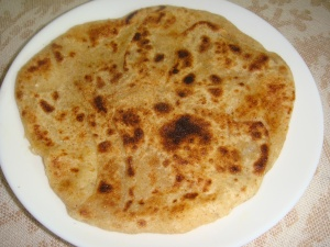 Paneer paratha (2)