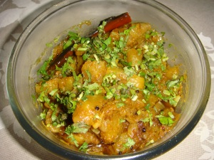 Pumpkin sweet and sour