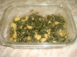 Spinach Garlic Cheese 1