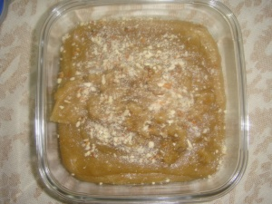 Wheat flour Halwa NG