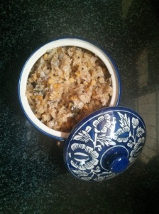 Cabbage with lentil 1