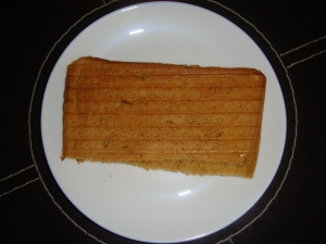 Toasted brown bread