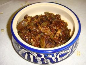 Brinjal Fry Andhran