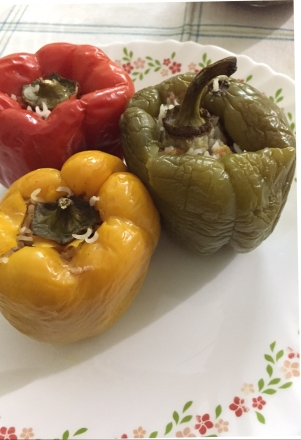 Bell Pepper stuffed